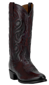Milwaukee mens cowboy boot | Black Cherry
