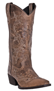 Cross Point Womens cowboy boot | Brown