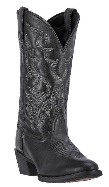 Maddie Womens cowboy boot | Black