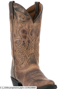 Maddie Womens cowboy boot | Brown