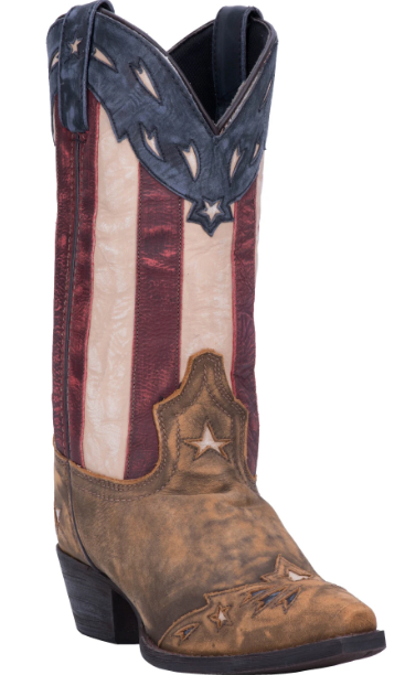 Keyes Women cowboy boot | Red/White/Blue