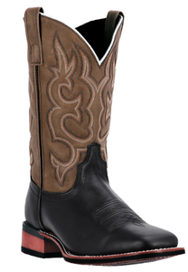 Lodi Mens cowboy boot | Black/ Brown