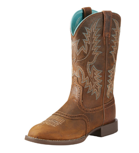 Heritage Stockman Western Boot | Sassy Brown