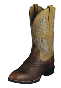 Heritage Stockman Western Boot | Barrel Brown