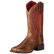 Ariat Women QuickDraw VentTeck | Brown/Hot pink