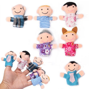 Hand Puppets Pack Of 6