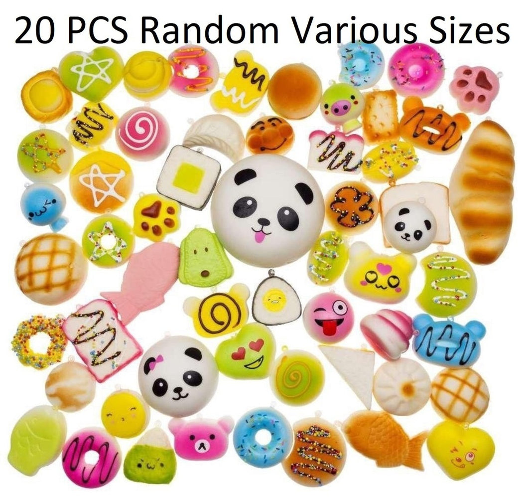 Squeeze Stress Relief Kawaii Toys 20