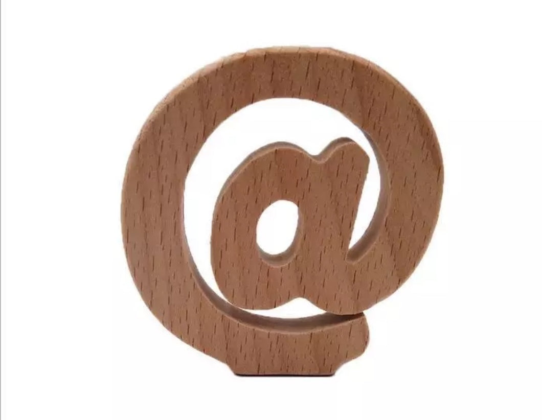Wooden Beech Chew Toy @ Symbol