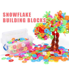 Load image into Gallery viewer, Snowflake Building Blocks
