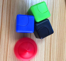 Load image into Gallery viewer, Cube Hand Spinner Plastic Various Colours