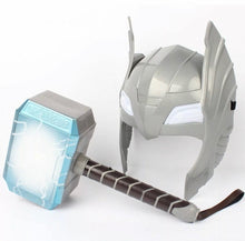 Load image into Gallery viewer, Thor: The Dark World Battle Hammer & Helmet LED