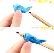 Load image into Gallery viewer, Dolphin Pencil Assisted Grip plus Chew