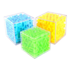 Load image into Gallery viewer, 3D Puzzle Maze Fidget Toy Cube