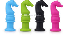 Load image into Gallery viewer, Chess Knight Pencil Topper Chew Toy