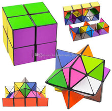 Load image into Gallery viewer, The Amazing Magic Cube - transforming Geometric Puzzle - 2 Cubes included