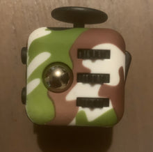 Load image into Gallery viewer, Camouflage White Fidget Cube