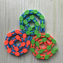 Load image into Gallery viewer, Wacky Tracks Fidgets Snap and Click Fidget Cube Puzzles