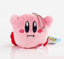 Load image into Gallery viewer, Kirby Plush Keychain