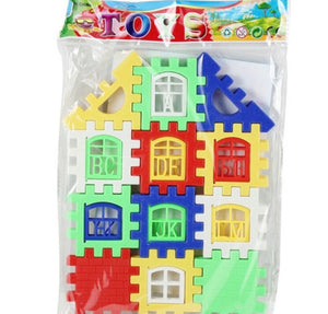 Puzzle Building Learning Blocks