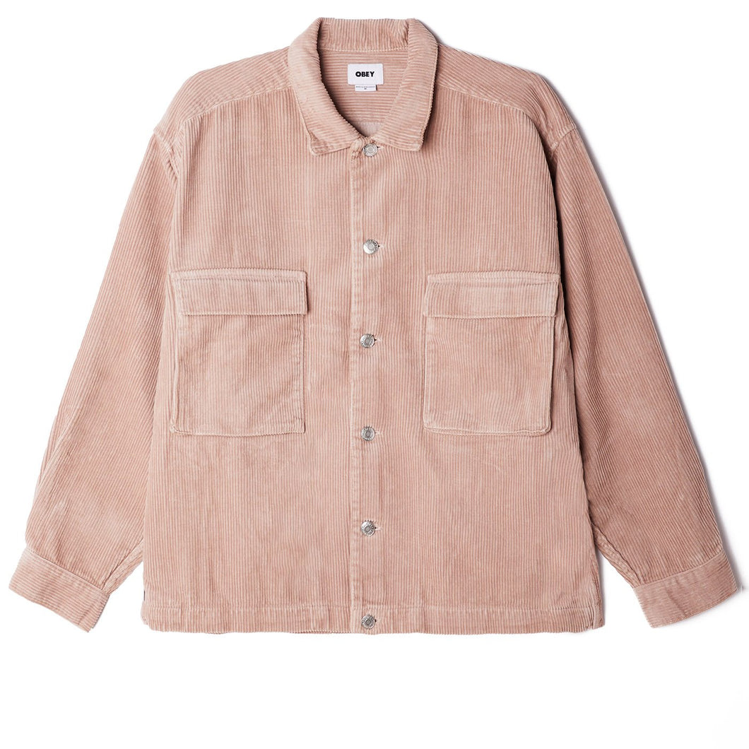 OBEY - THEO CORD SHIRT JACKET