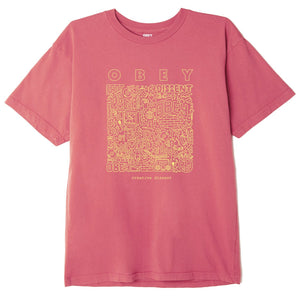 OBEY - CREATIVE DISSENT ORGANIC T-SHIRT