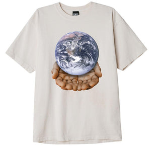 OBEY - OUR PLANET IS IN YOUR HANDS T-SHIRT