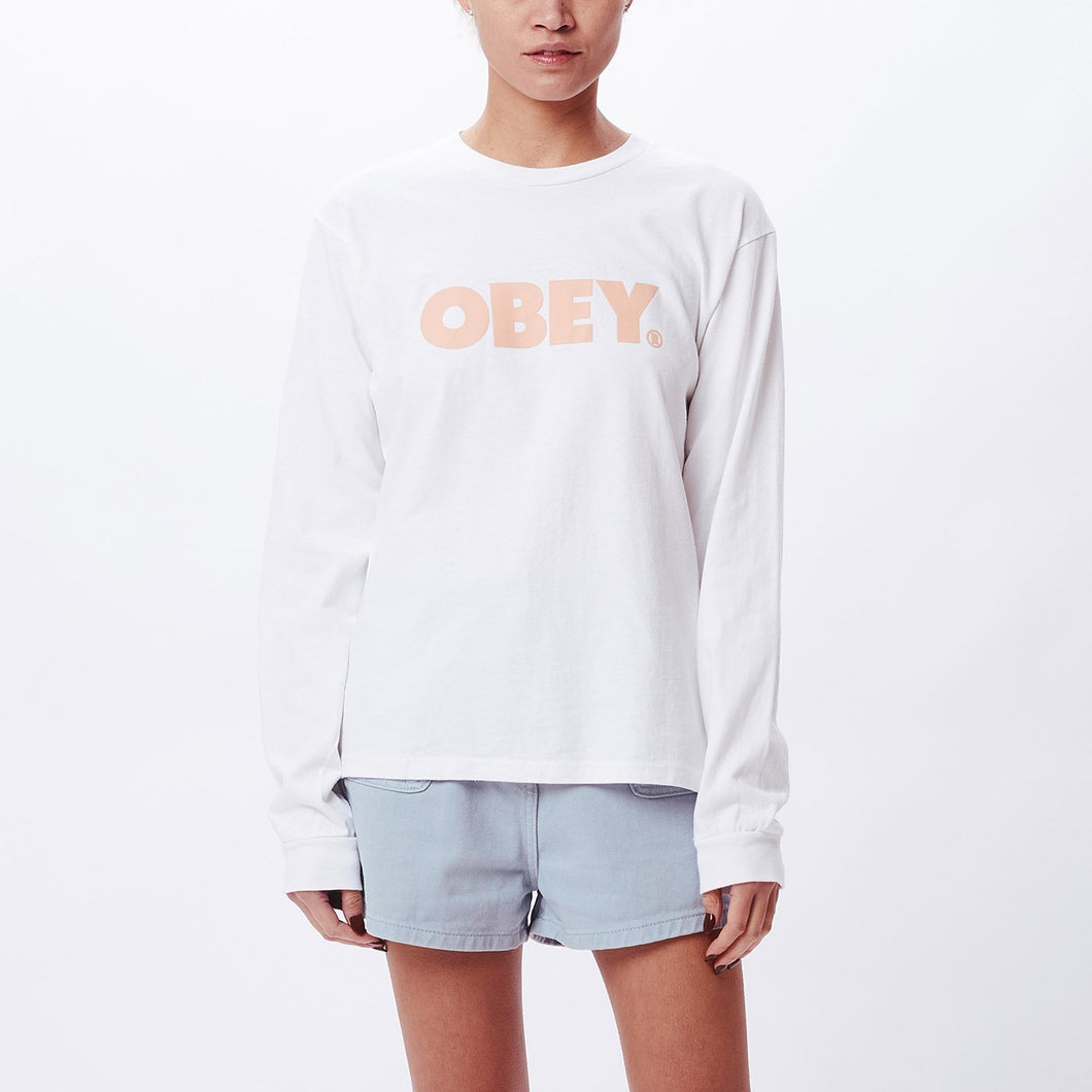 OBEY - BOLD CUSTOM BOX LS T-SHIRT
