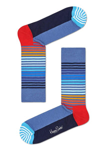 "Happy Socks Gift Box ""Navy Socks"" 4 paia"