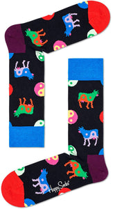 "Happy Socks ""Yin Yang Cow"""