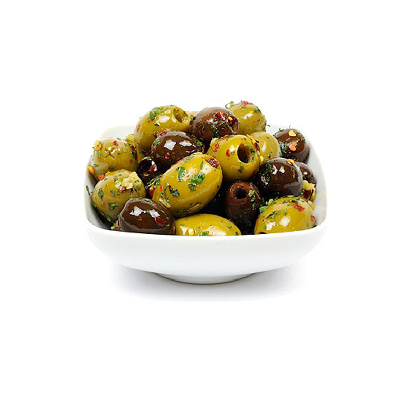 Boscaiola Marinated Olives Pitted - 100g