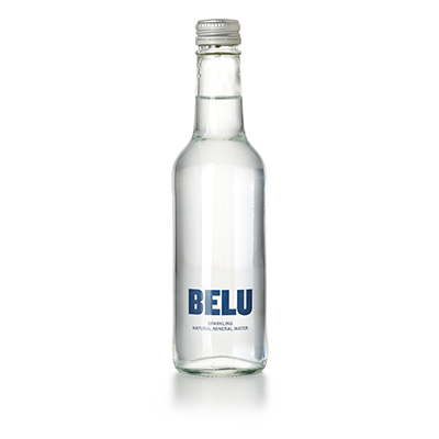 Belu Sparkling Natural Mineral Water - 330ml Bottle