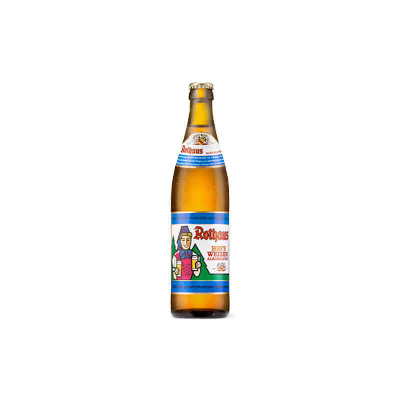 Rothaus Non-Alcoholic Hefeweizen - 50cl Bottle
