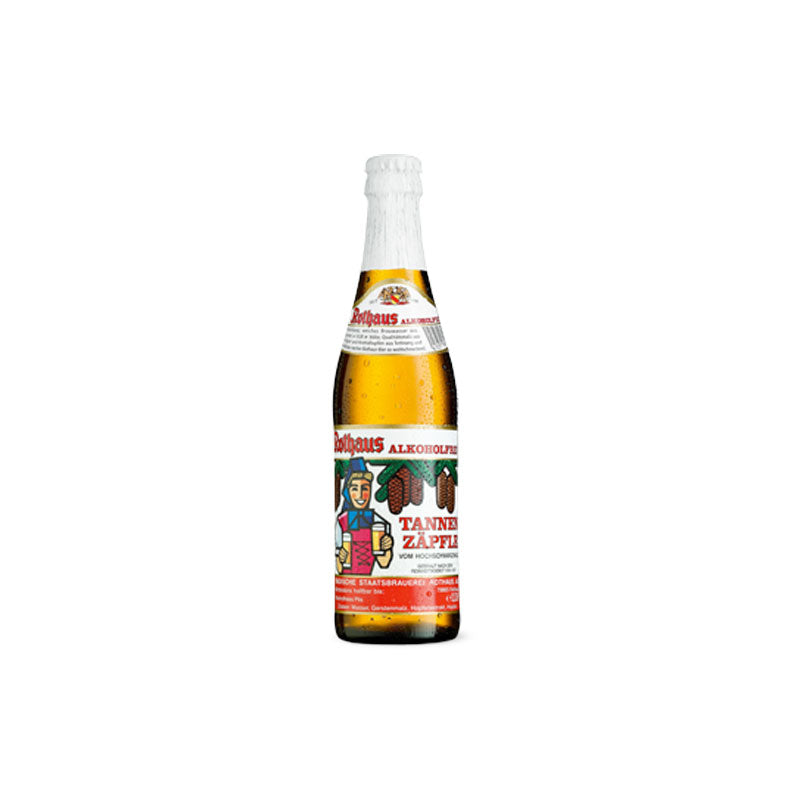 Rothaus Non-Alcoholic Tannenzäpfle - 33cl Bottle
