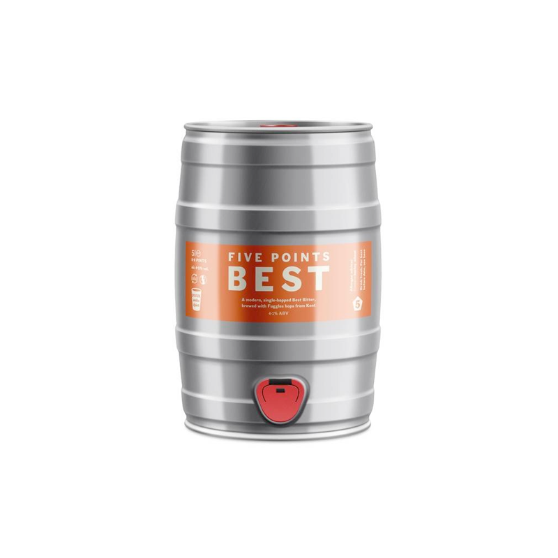 Five Points Best Bitter - 5l Mini Cask