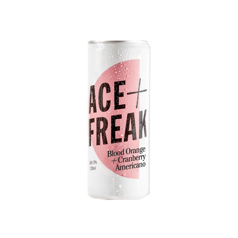 Ace + Freak - Blood Orange & Cranberry Spritz 250ml Can