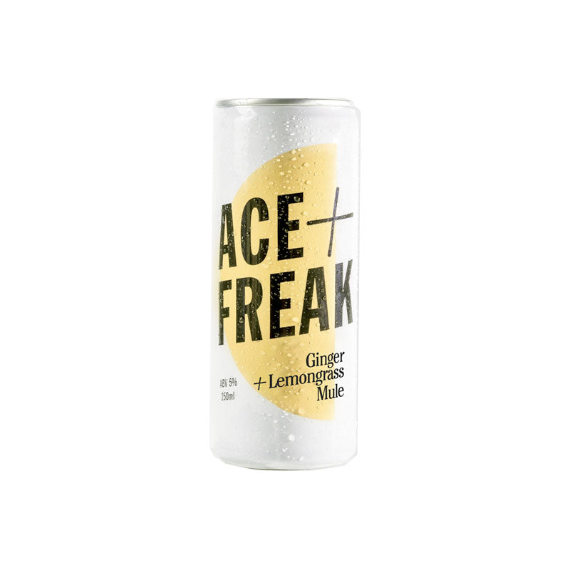 Ace + Freak - Ginger & Lemongrass Mule 250ml Can