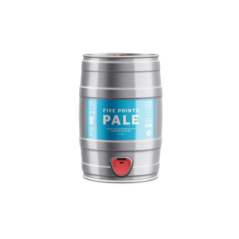 Five Points Pale - 5l Mini Cask