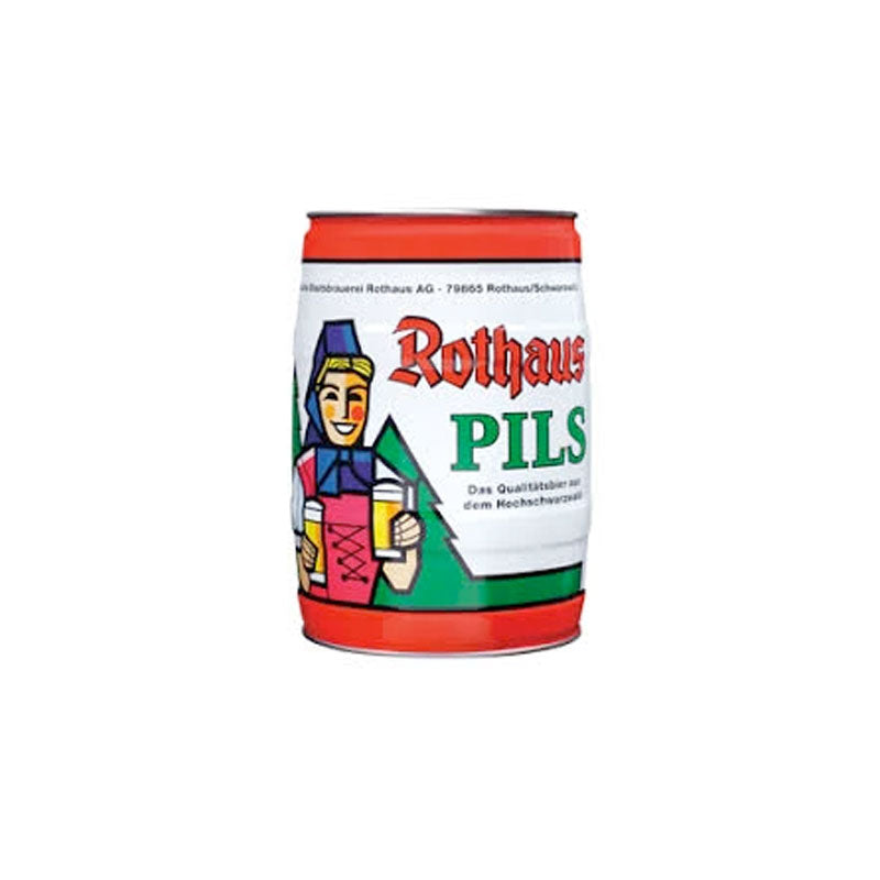 Rothaus Pils - 5 Litre Party Keg