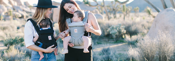 Wear your baby at all ages and in all positions with Ergobaby's Omni 360 baby carrier