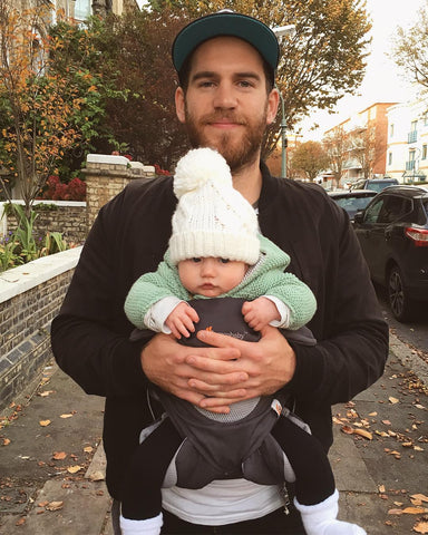 Baby Carrying winter