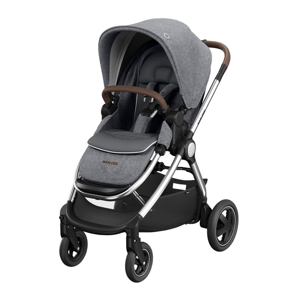 Maxi-Cosi Adorra Luxe Travel System Package - Grey Twillic