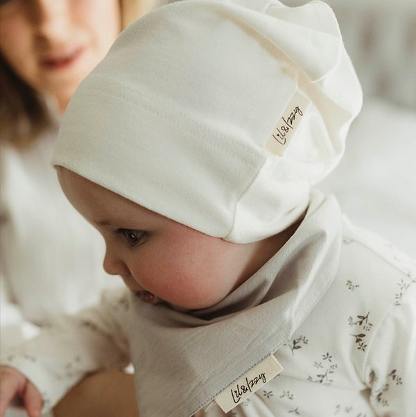 Lil&Izzy Knotted Hat Cream