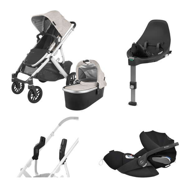 Uppababy Vista V2 & Cybex Cloud Z / Base Z Bundle