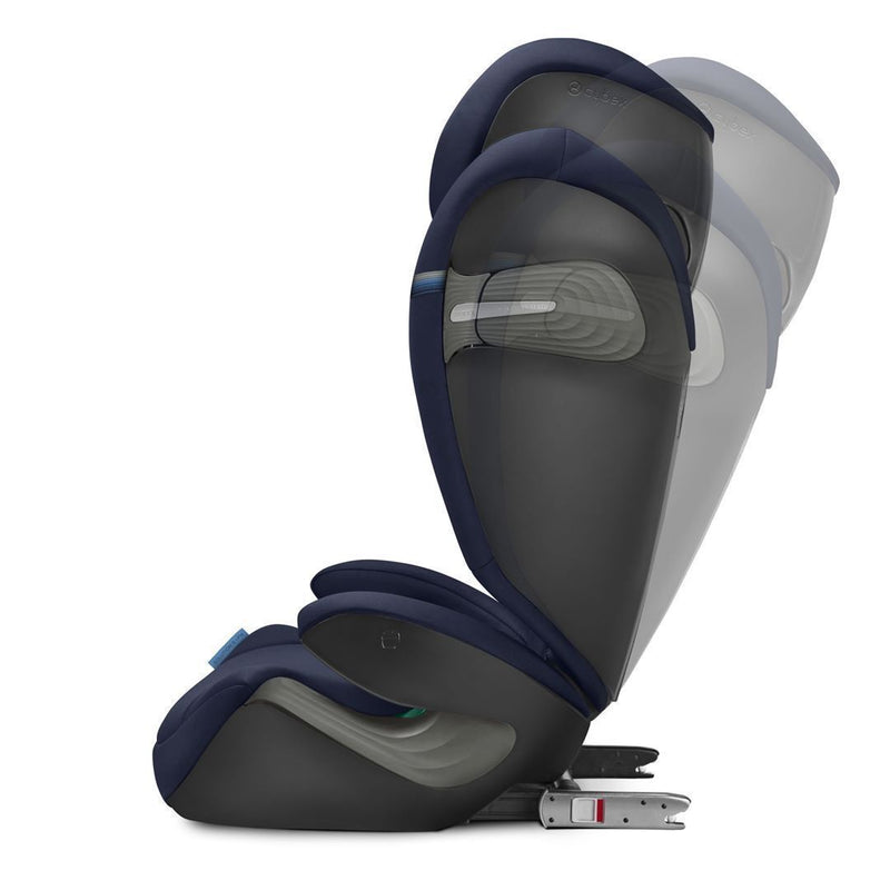 Cybex Solution S I-Fix Car Seat - 2020 - Navy Blue