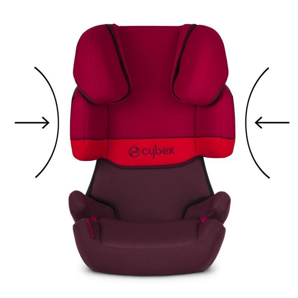 Cybex Solution X-Fix Group 2-3 Car Seat - Rumba Red