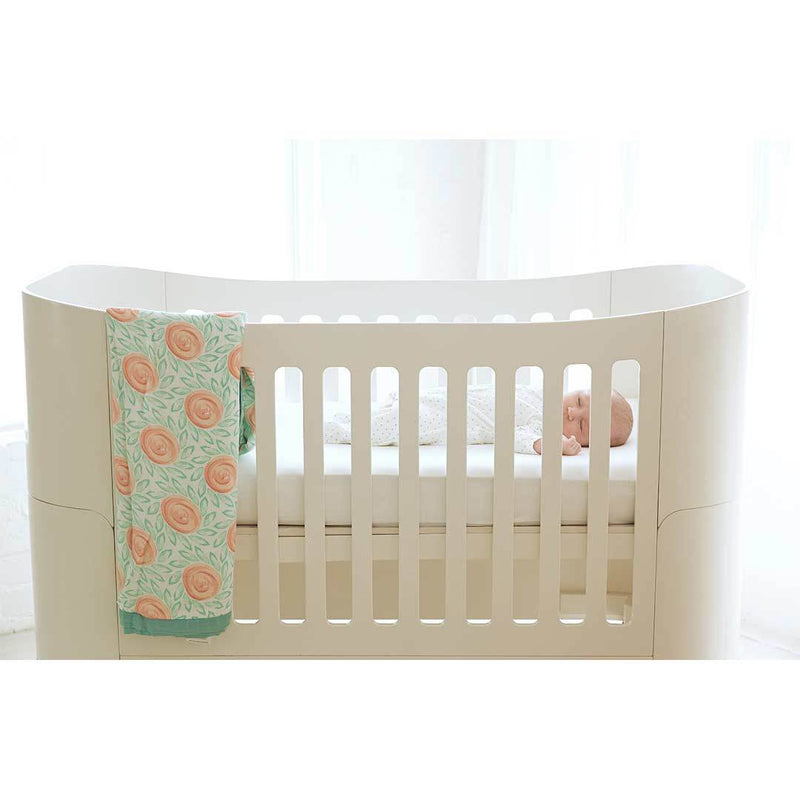 Gaia Serena Complete Sleep Baby Bed - All White
