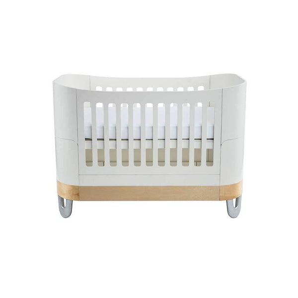 Gaia Serena Complete Sleep Baby Bed - White / Natural
