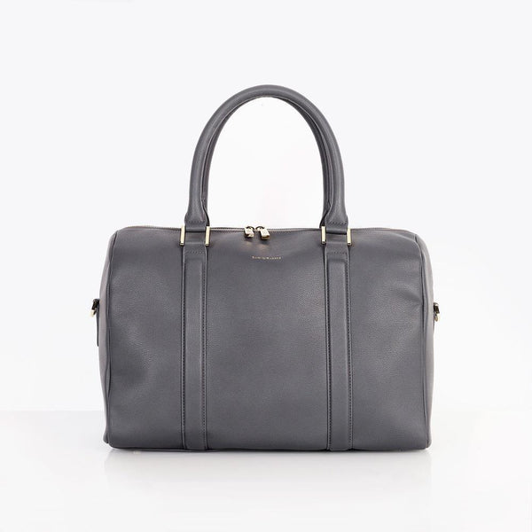 Heather Baby Changing Bag - Slate Grey