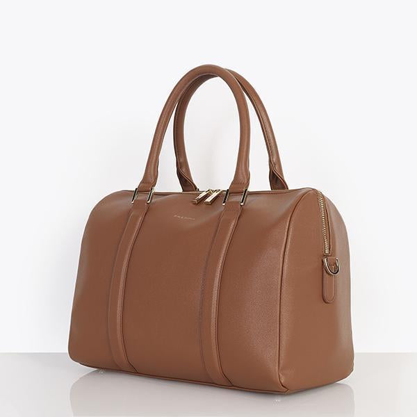 Heather Baby Changing Bag - Tan