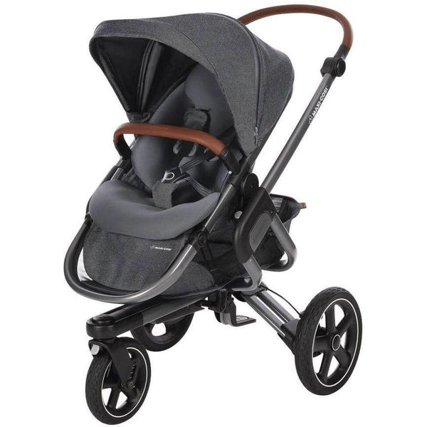 Maxi-Cosi Nova 3-wheel Pushchair - Charcoal Frame - Sparkling Grey